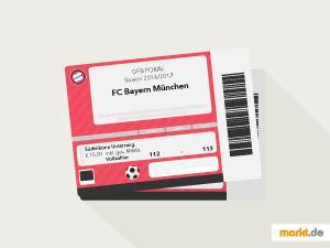 Grafik FC Bayern Tickets kaufen