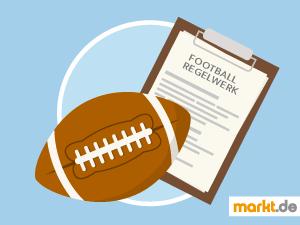 Grafik American Football Regeln