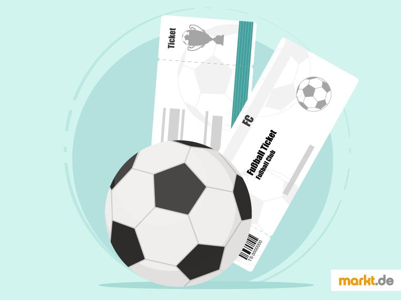 Privater verkauf von fußball tickets im internet markt