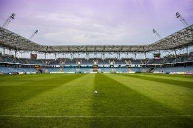 Bild Fußballstadion Innenansicht