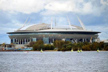 Bild Fußballstadion in St. Petersburg