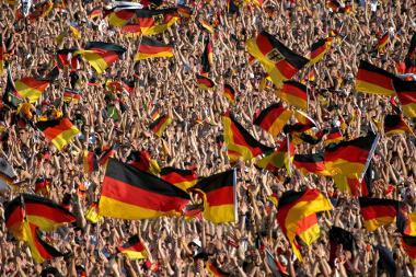 Bild Fußballfans im Stadion