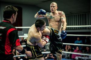 Bild Offizieller Kickboxkampf