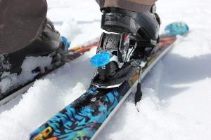 Bild Ski Bindung Gebrauchtkauf