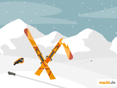 Grafik Was tun bei einem Skiunfall