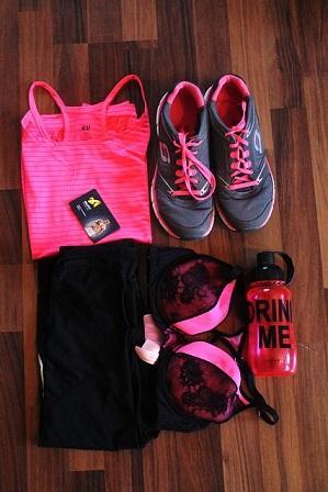 Bild Sportbekleidung - von Kopf bis Fuß