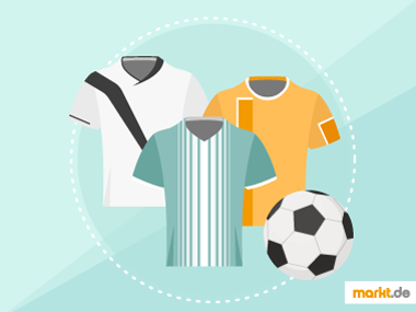 Grafik Sportübersicht Fussballtrikots
