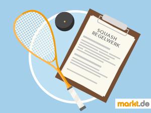 Grafik Squash Regeln