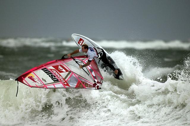 Bild Windsurfen