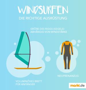 Grafik Windsurfen