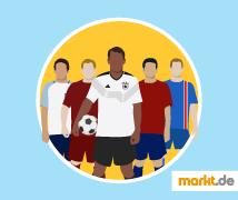 Grafik Teams bei der WM