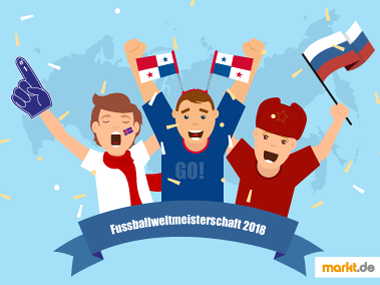 Grafik WM 2018 in Russland