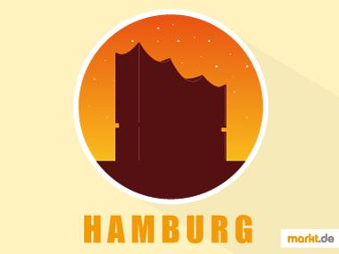 Grafik Hamburger Elbphilharmonie