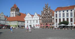 Bild Marktplatz in Greifswald