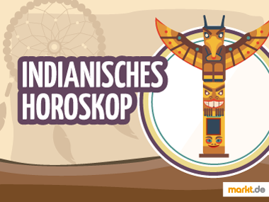 Grafik Indianisches Horoskop