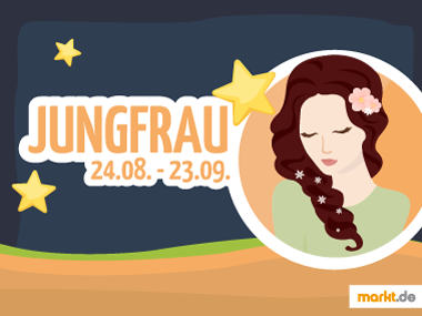 Grafik Sternzeichen Jungfrau Partner