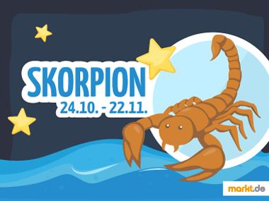Grafik Sternzeichen Skorpion Partner