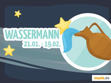 Grafik Sternzeichen Wassermann Partner