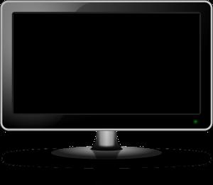 Bild von Mann vor dem Fernseher
