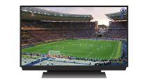 Bild Fernseher mit WM-Fußballprogramm