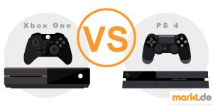 Grafik XBox One im Vergleich zur PS4
