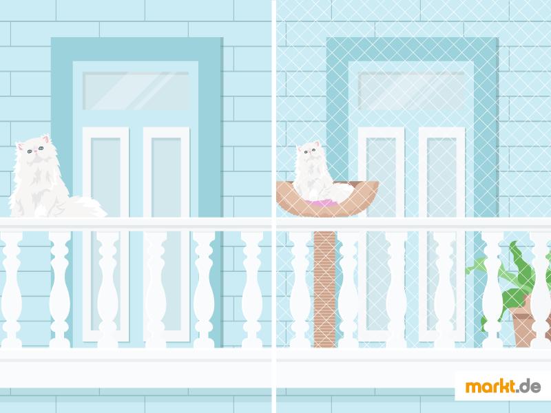 Tipps Zur Sicherung Des Balkons Fur Ihre Katze Markt De