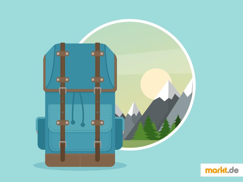ac12817d3a554 Backpacker-Urlaube liegen stark im Trend  Einfach den Rucksack packen und  los geht die Tour. So ist die Vorstellung vieler Urlauber