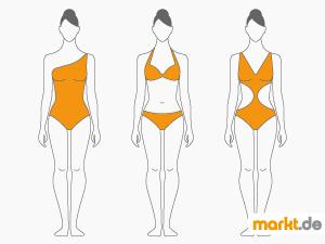 Bild Frau im Bikini