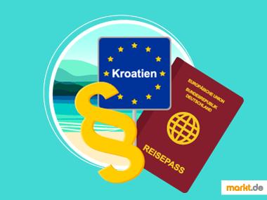 Grafik Urlaub Kroatien