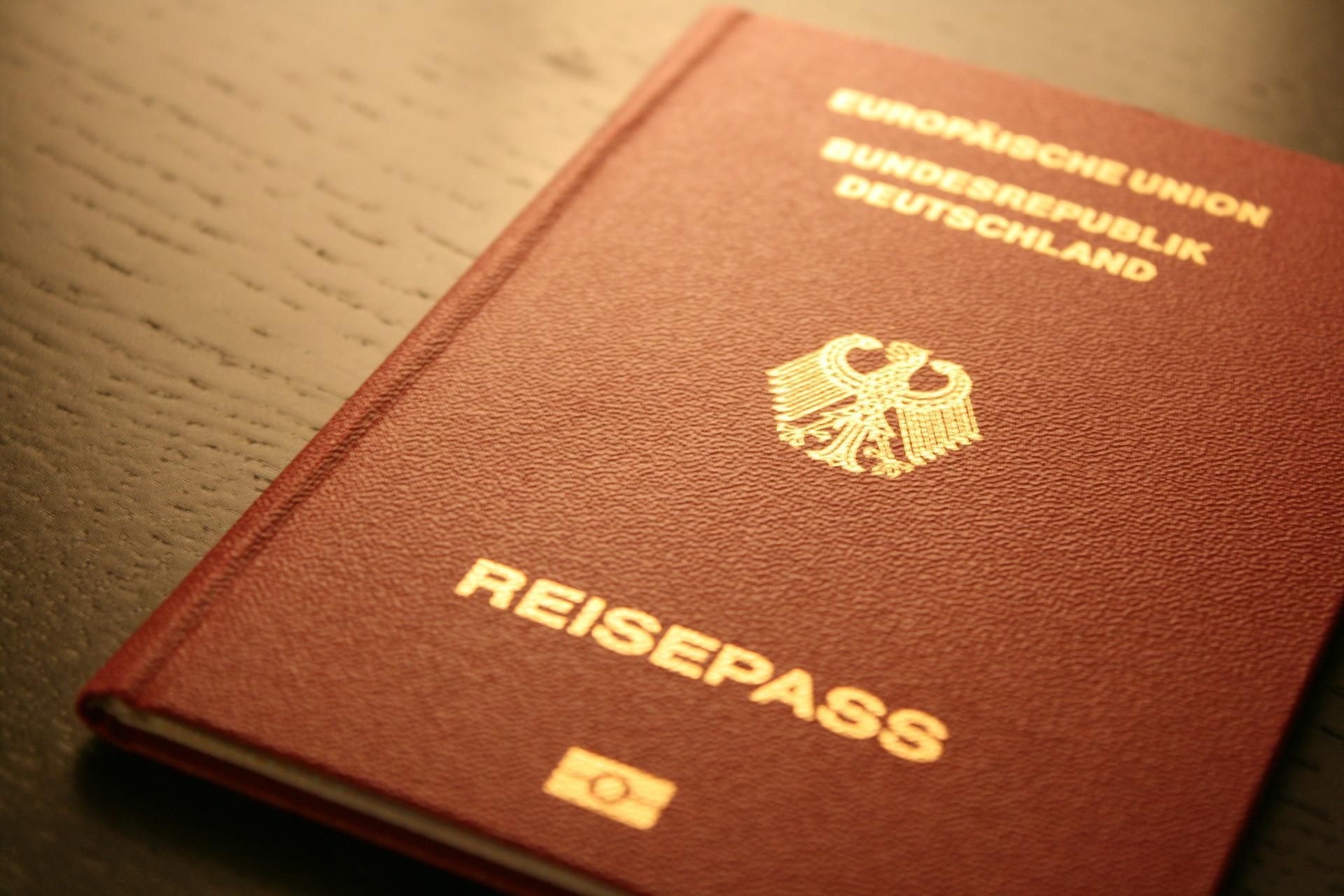 Bild Deutscher Reisepass