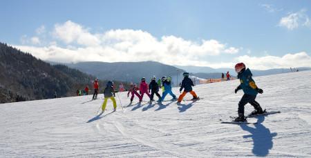 Skikurs für Kinder