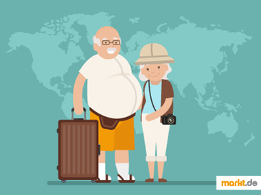 Grafik Reisende Senioren