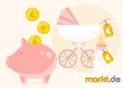 Grafik Bei der Babyerstausstattung sparen
