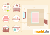 Bild Babyzimmer einrichten