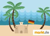 Grafik Deutsche Urlaub