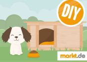 Bild Hundehütte selber bauen