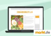Bild Ernährungsplan online