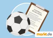 Grafik Fußballregeln