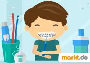 Grafik Reinigung Zahnspange