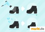 Grafik Schuhe anpassen