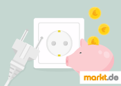 Grafik Strom und Geld sparen