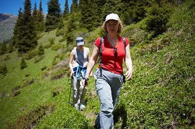 Bild Frauen beim Wandern