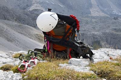 Bild Wanderrucksack Klettersteig
