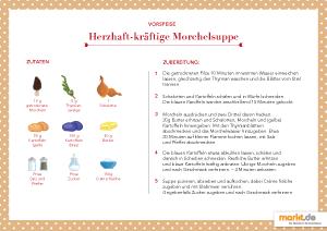 Morchelsuppe Rezept