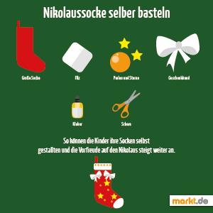 Grafik Nikolaussocke