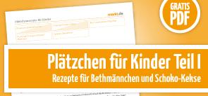 Grafik Plätzchen für Kinder 1 PDF-Download.