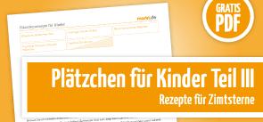 Grafik Plätzchen Kinder 3 PDF-Download.