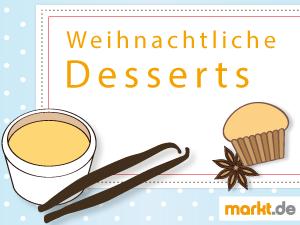 Grafik Weihnachtliche Desserts