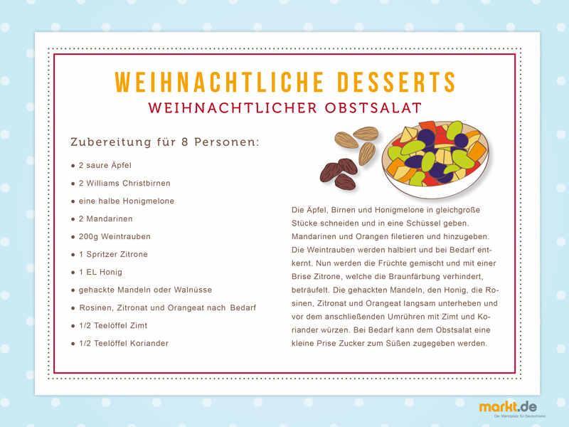 weihnachtliche desserts leckere rezepte. Black Bedroom Furniture Sets. Home Design Ideas