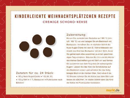 Grafik Weihnachtskekse Rezept